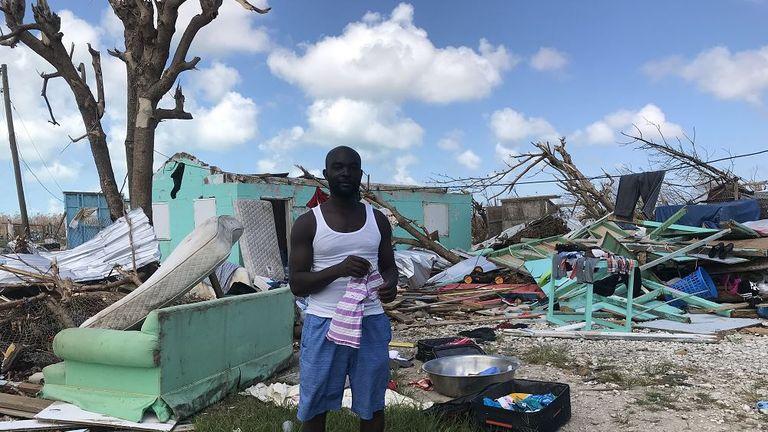 Dorian hurricane. mark St Vincent