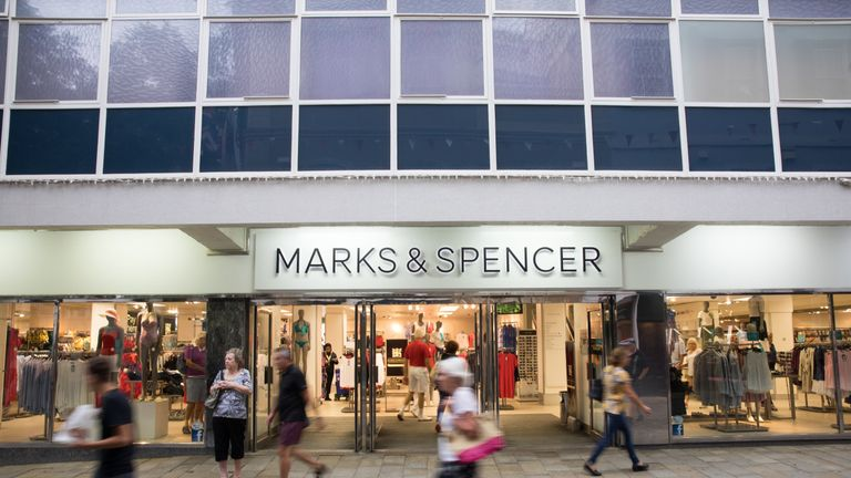 Marks & Spence's finance chief is quitting the retailer