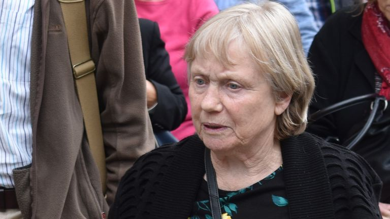 Mavis Eccleston was accused of murdering her terminally-ill husband