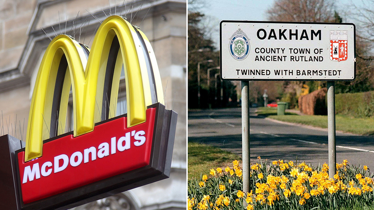 McDonald's wants to open a restaurant in Oakham