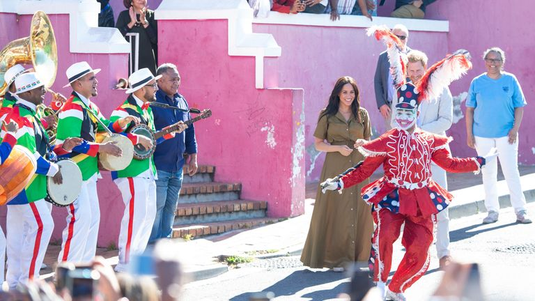 The Duke and Duchess visit a Heritage Day event in Bo-Kaap, Cape Town