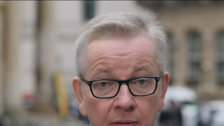 Michael Gove advocates a general election if MPs are unhappy with the prime minister or government