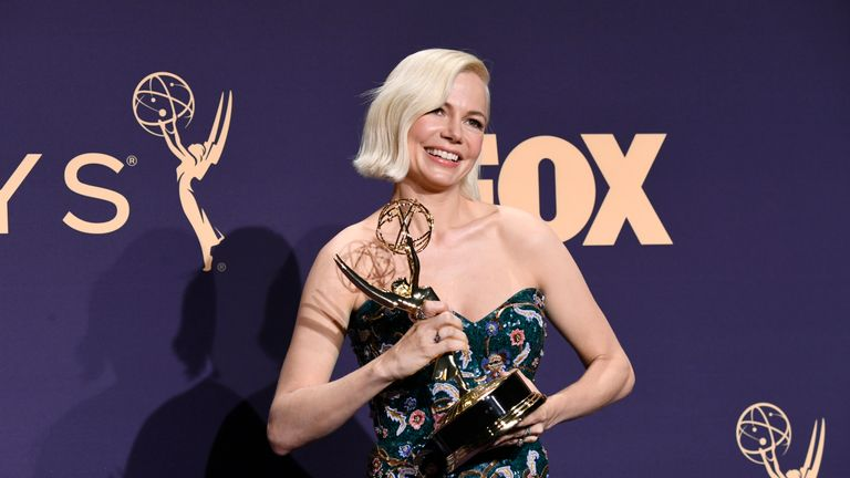 Michelle Williams won the best lead actress in a limited series or movie Emmy for Fosse/Verdon