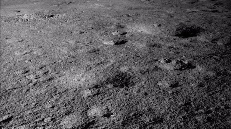 Yutu-2 previously discovered that the moon's surface was diffent to what scientists were expecting. Pic: China National Space Administration