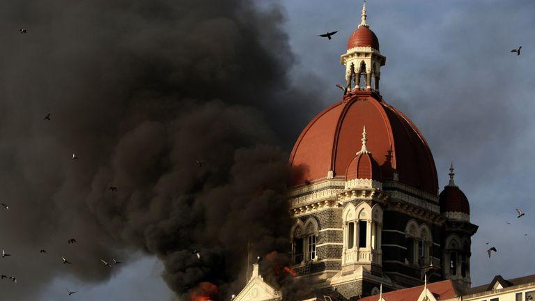 Mumbai terror attack, Taj Hotel, 2008