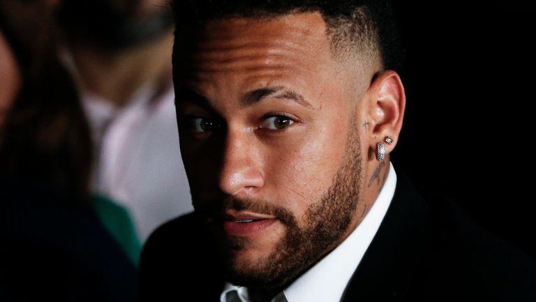 Neymar had always denied rape