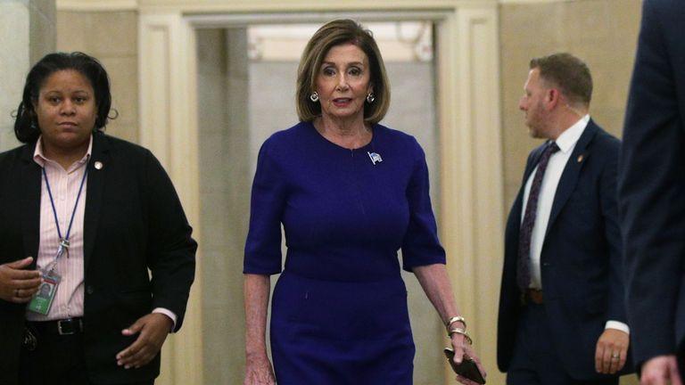 Nancy Pelosi has announced proceedings against Donald Trump