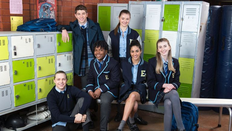 Erinsborough High will focus on the pressures of teenagers in their final year. Image @neighbours