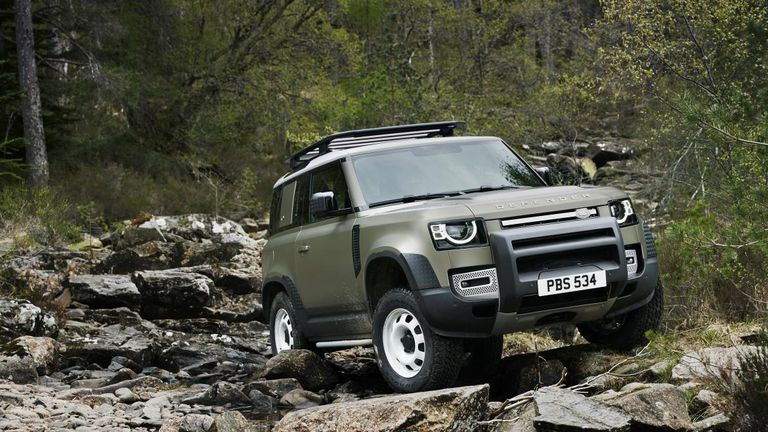 "The new Defender is the ""toughest and most capable Land Rover yet"", according to JLR"