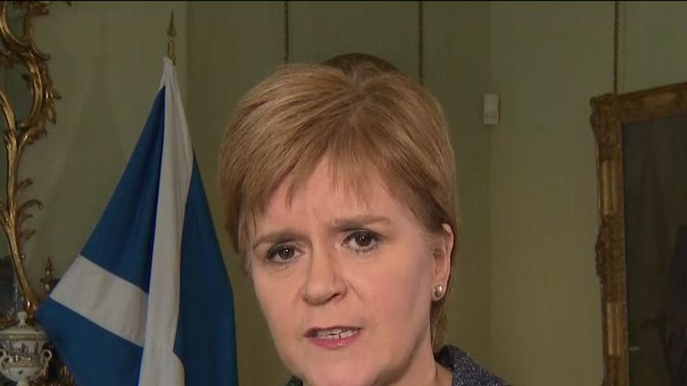 Nicola Sturgeon thinks that Boris Johnson should not stay in office after Supreme Court ruling