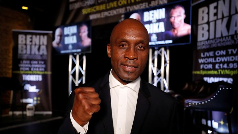 Nigel Benn will step back in the ring 23 years after his last fight