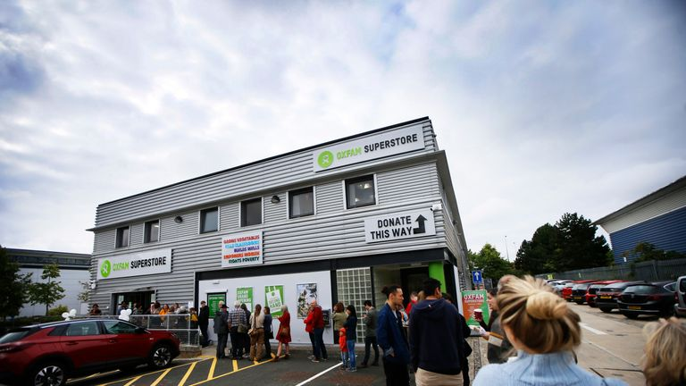 Oxfam opens its first ever superstore - press release