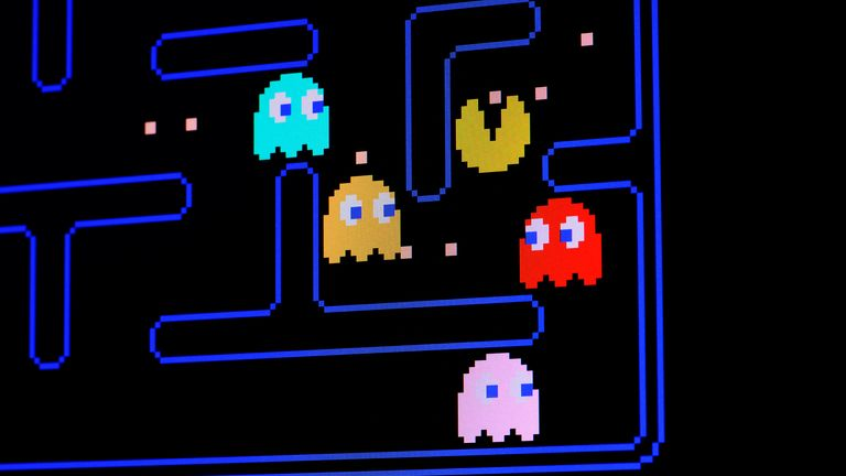 Mr Mitchell also held a record in Pac-Man