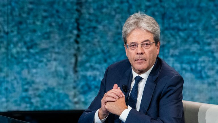 Paolo Gentiloni formerly served as the prime minister of Italy
