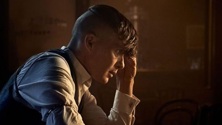 Cillian Murphy is currently playing Tommy Shelby MP