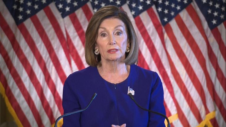 Speaker of the House of Representatives, Nancye Pelosi, said that president Trump has 'betrayed his oath of office'