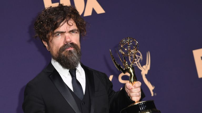 Peter Dinklage won the best supporting actor in a drama Emmy for his role in Game Of Thrones