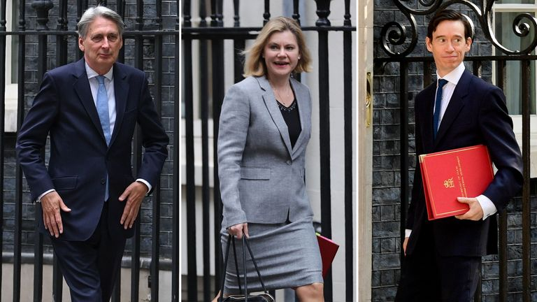 Philip Hammond, Justine Greening and Rory Stewart have all confirmed they are voting against the government