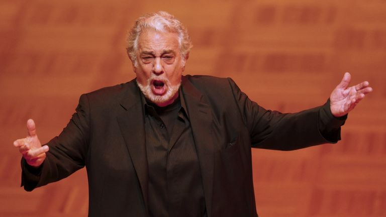 Opera singer Placido Domingo has said he will no longer perform at the Met Opera amid harassment claims
