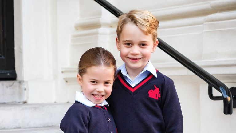 Kensington Palace has released a new picture of the royal siblings.