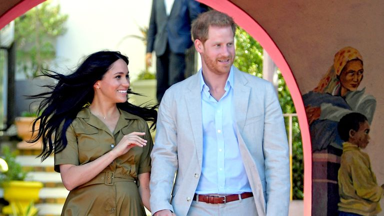 The Duke and Duchess are on a 10-day tour of southern Africa