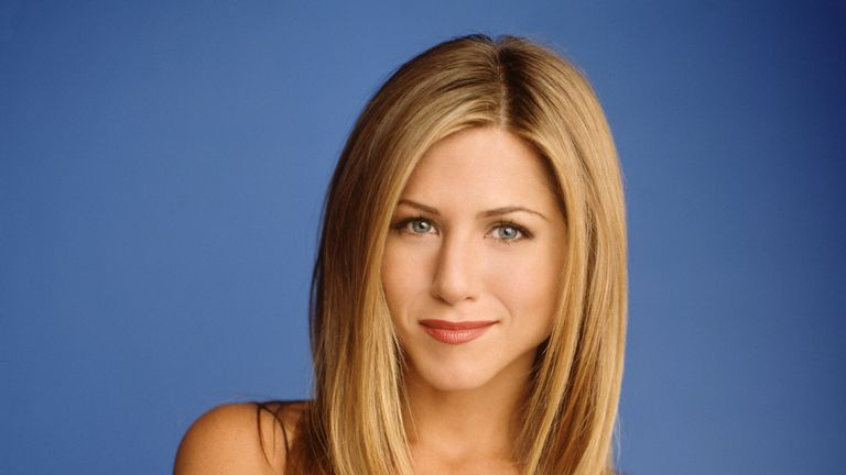 Jennifer Aniston as Rachel Green in Friends