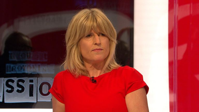 Rachel Johnson said the language her brother used was reprehensible