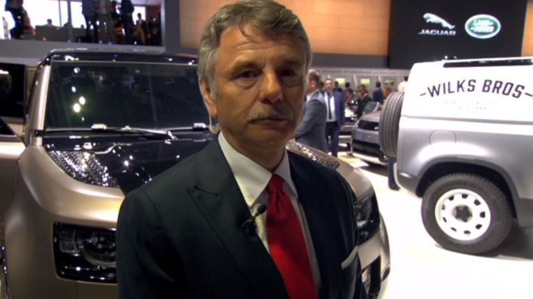 Dr Ralf Speth is the chief executive of Jaguar Land Rover