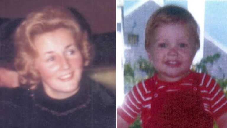 Renee MacRae and her son Andrew disappeared in 1976. Pics: Police Scotland
