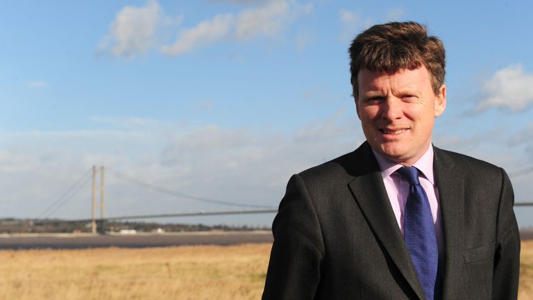 Richard Benyon is the great great-grandson of former prime minister, Lord Salisbury