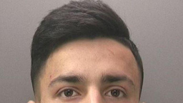 Sadam Essakhil killed a man aged 15. Pic: West Midlands Police