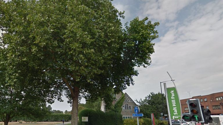 A boy, 15, has been stabbed to death in Salt Hill Park in Slough