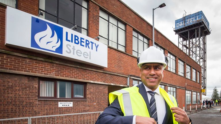 Sanjeev Gupta, steel magnate and executive chairman of Liberty House Group