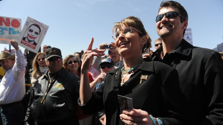 Sarah and Todd Palin have been married since 1988