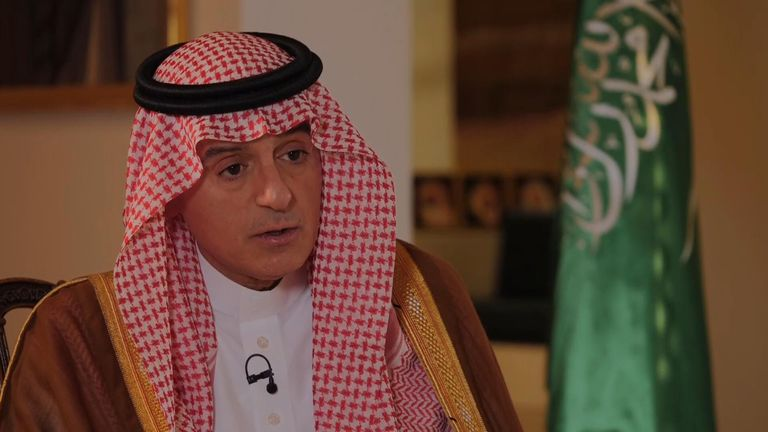 Saudi Minister of State for Foreign Affairs Adel al-Jubeir says the country is prepared to defend itself