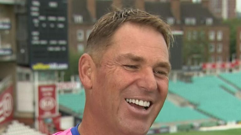 Australia legend Shane Warne is backing the Aussies to win the series - just