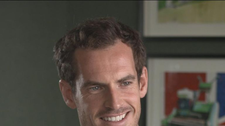 Sir Andy Murray says he likes bagels and chocolate biscuits