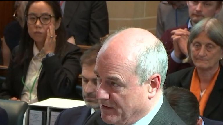The government's lawyer Sir James Eadie says that prorogation 'was not unlawful' at Supreme Court hearing