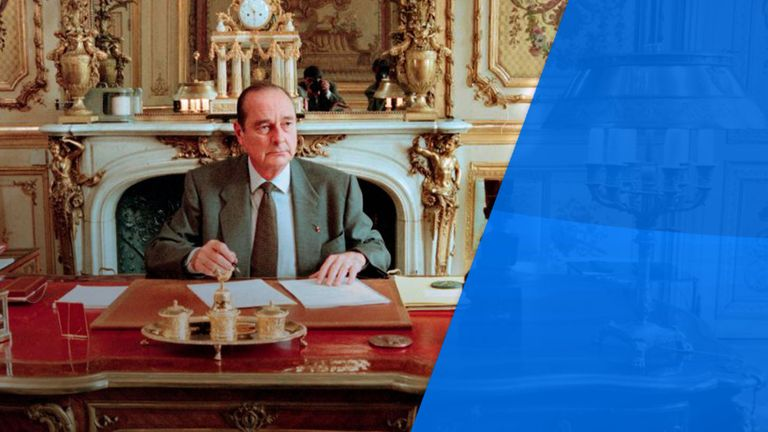 Jacques Chirac died this week