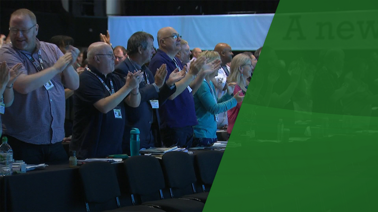 The TUC is holding is annual congress in Brighton