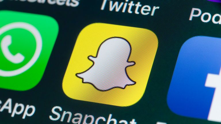 Snapchat is popular with young people