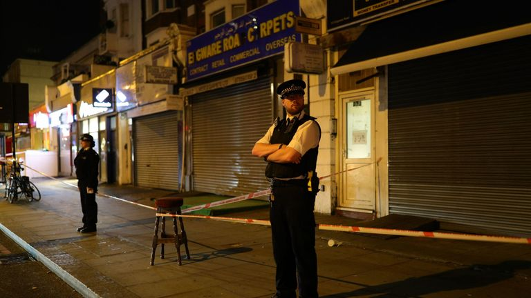 The teenager was stabbed to death on Edgware Road, near to the junction of Church Street in Westminster, London
