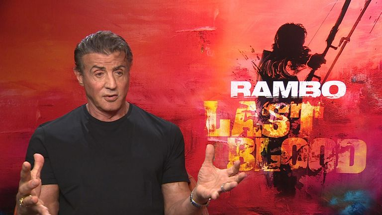 Stallone is set to reprise his role as Rambo in a new film