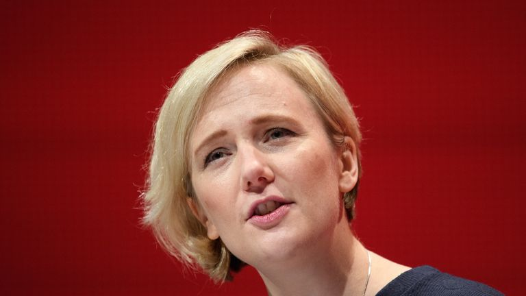 Stella Creasy has been targeted by an anti-abortion group in her Walthamstow constituency