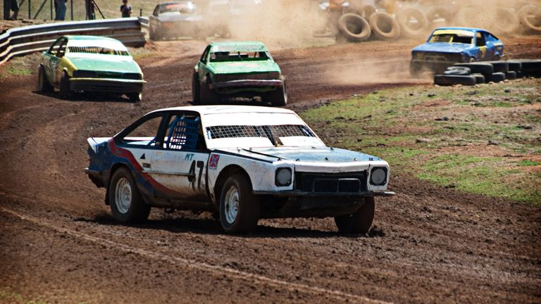 Mr MacLean became a bounty hunter to help fund his love of stock car racing. File pic