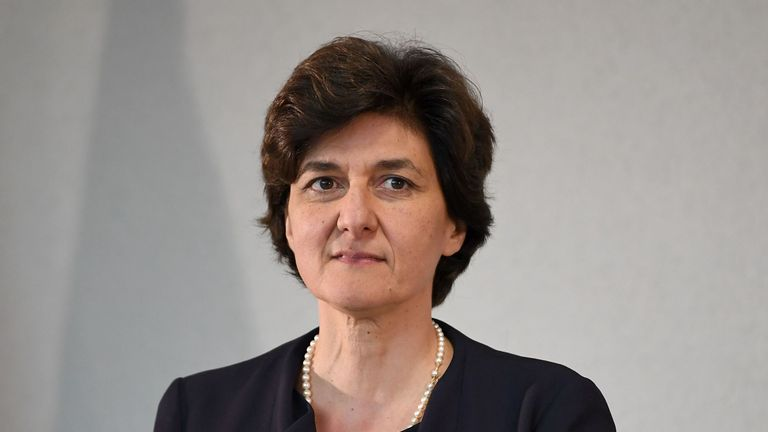 Sylvia Goulard previously served as France's defence minister