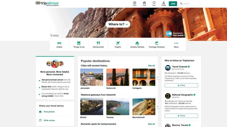Which? found TripAdvisor is failing to tackle fake reviews