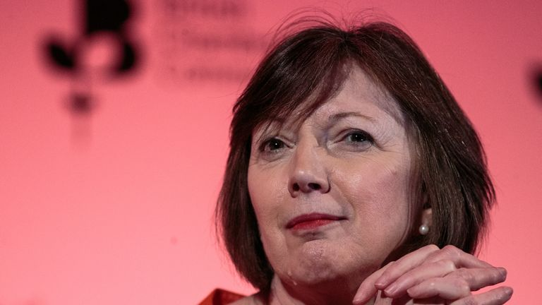 LONDON, ENGLAND - MARCH 28: General Secretary of the TUC Frances O'Grady attends the annual British Chambers of Commerce conference on March 28, 2019 in London, England. (Photo by Jack Taylor/Getty Images)