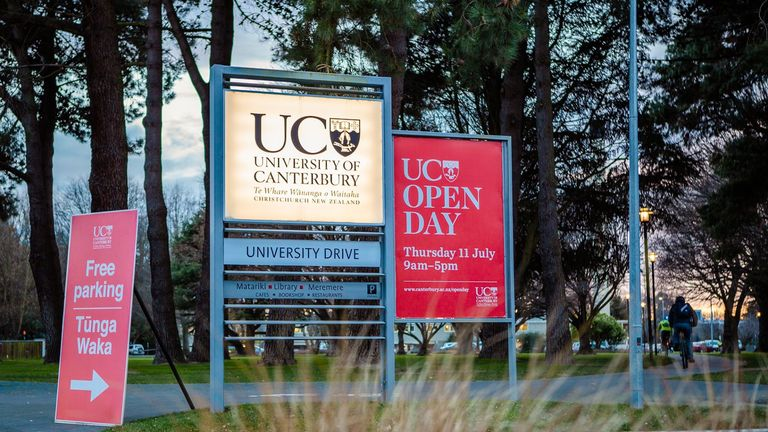 The University of Canterbury says it's doing everything it can to help police investigate the death of a student in a dorm room