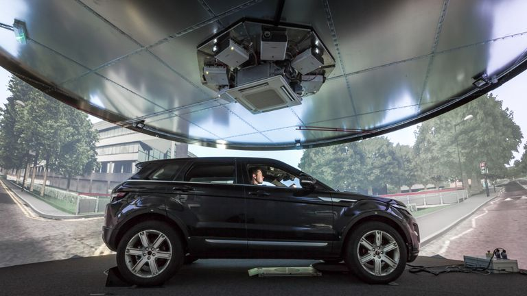 5G tech broke speed records during autonomous car tests at the University of Warwick. Pic: University of Warwick